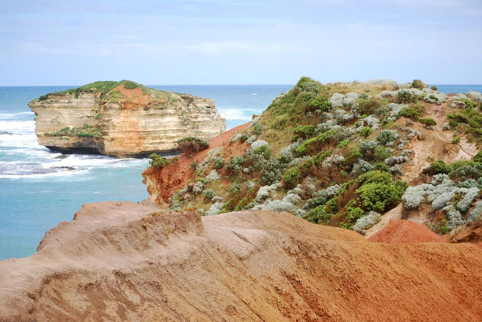 Free Coastline on the Great Ocean Road Australia