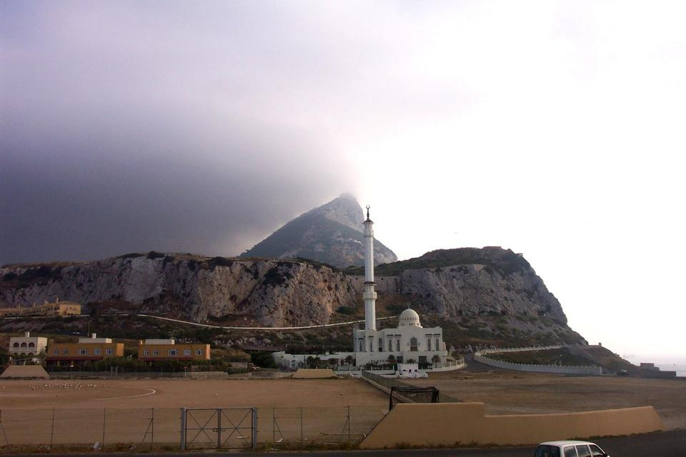 Free The mosque at Point Europa on Gibraltar
