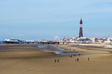 Free Landscape Blackpool Pleasure Beach
