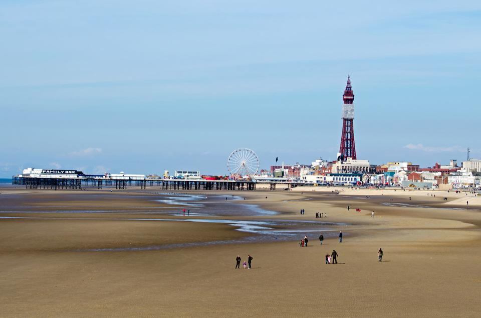 Free Landscape Blackpool Pleasure Beach