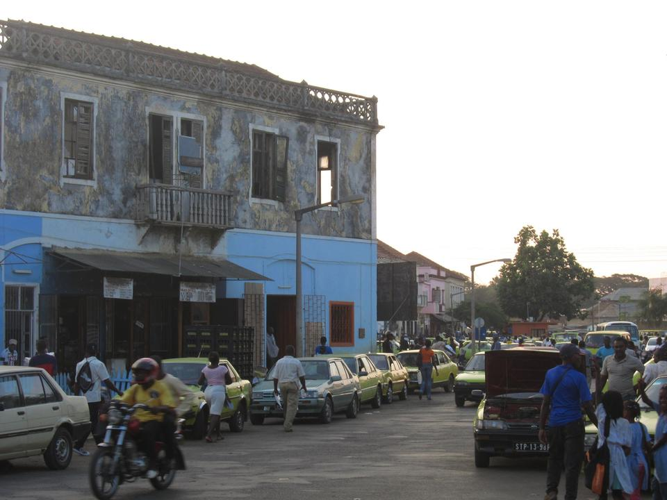 Free Downtown Sao Tome Africa