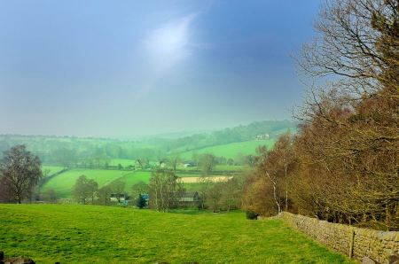 Free Landscape of early Spring yorkshire