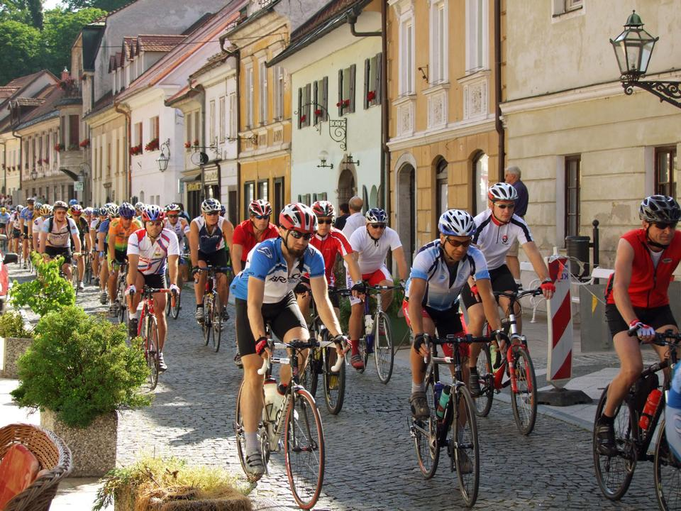 Free Kamnik Alps Bicycle marathon in Slovenia