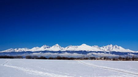 Free Landscape of Tatra Mountains in Slovak