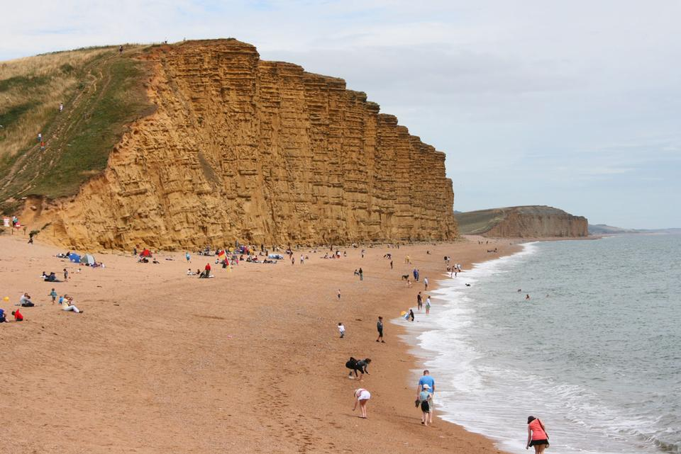 Free Landscape of West Bay Dorset England