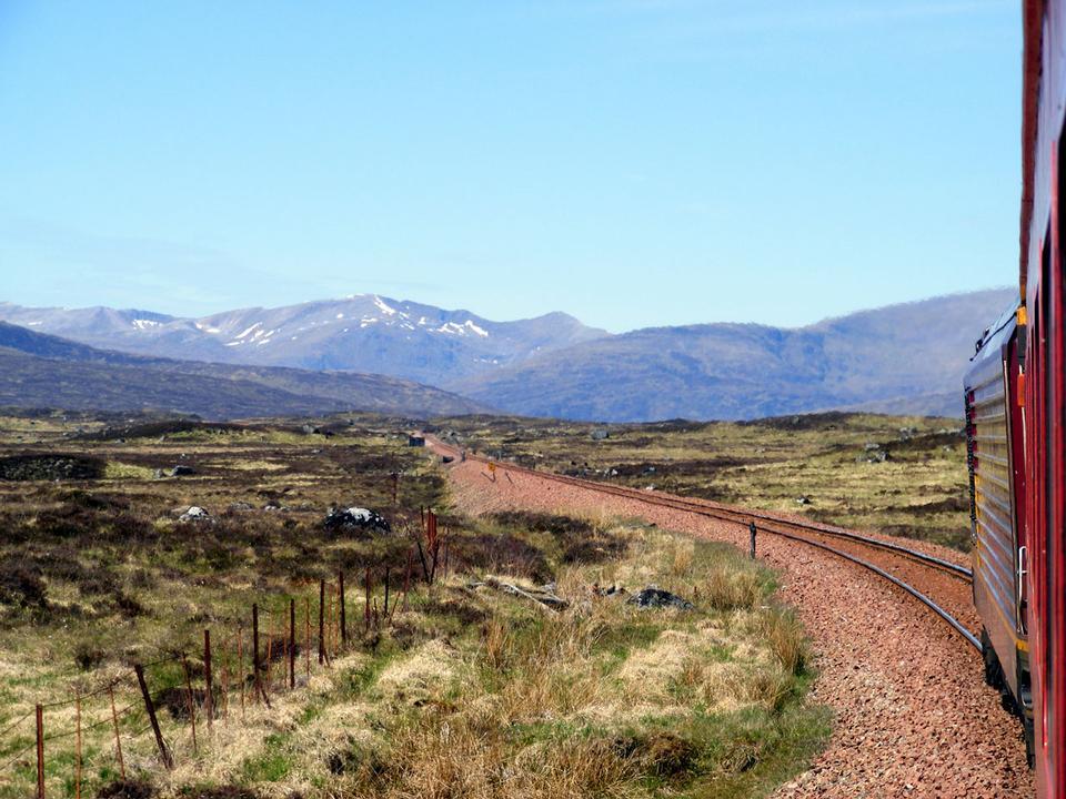 Free Traversing Rannoch Moor