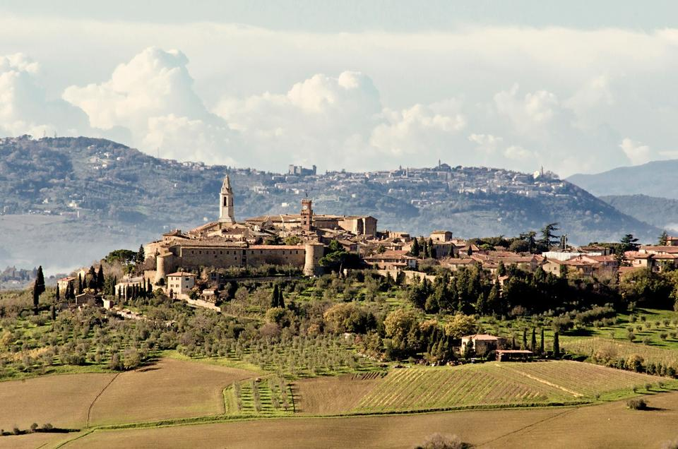 Free Pienza, Tuscany, Tuscan Landscape