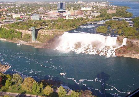 Free Canadian side of Niagara Falls Landscape