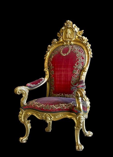 Free throne chair charles iii spain madrid 1770s