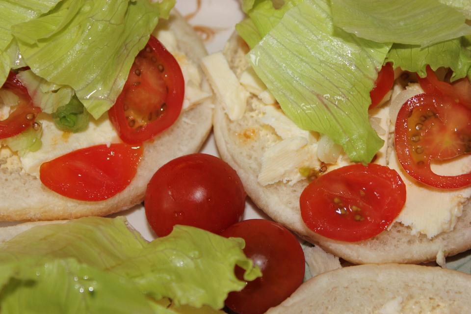 Free Cheese Salad Sandwich