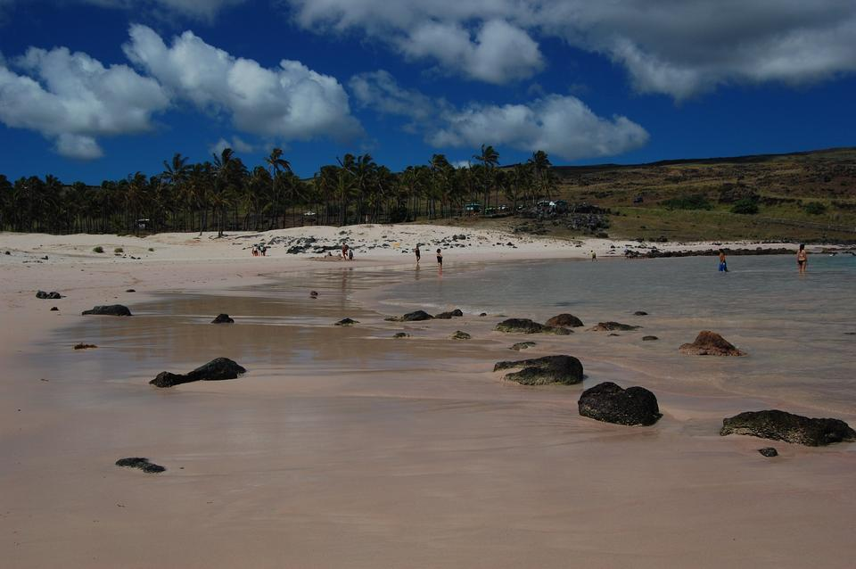 Free Anakena Beach Easter Island Chile