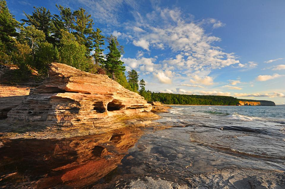 Free Mosquito Beach at Pictured Rocks National Lakeshore