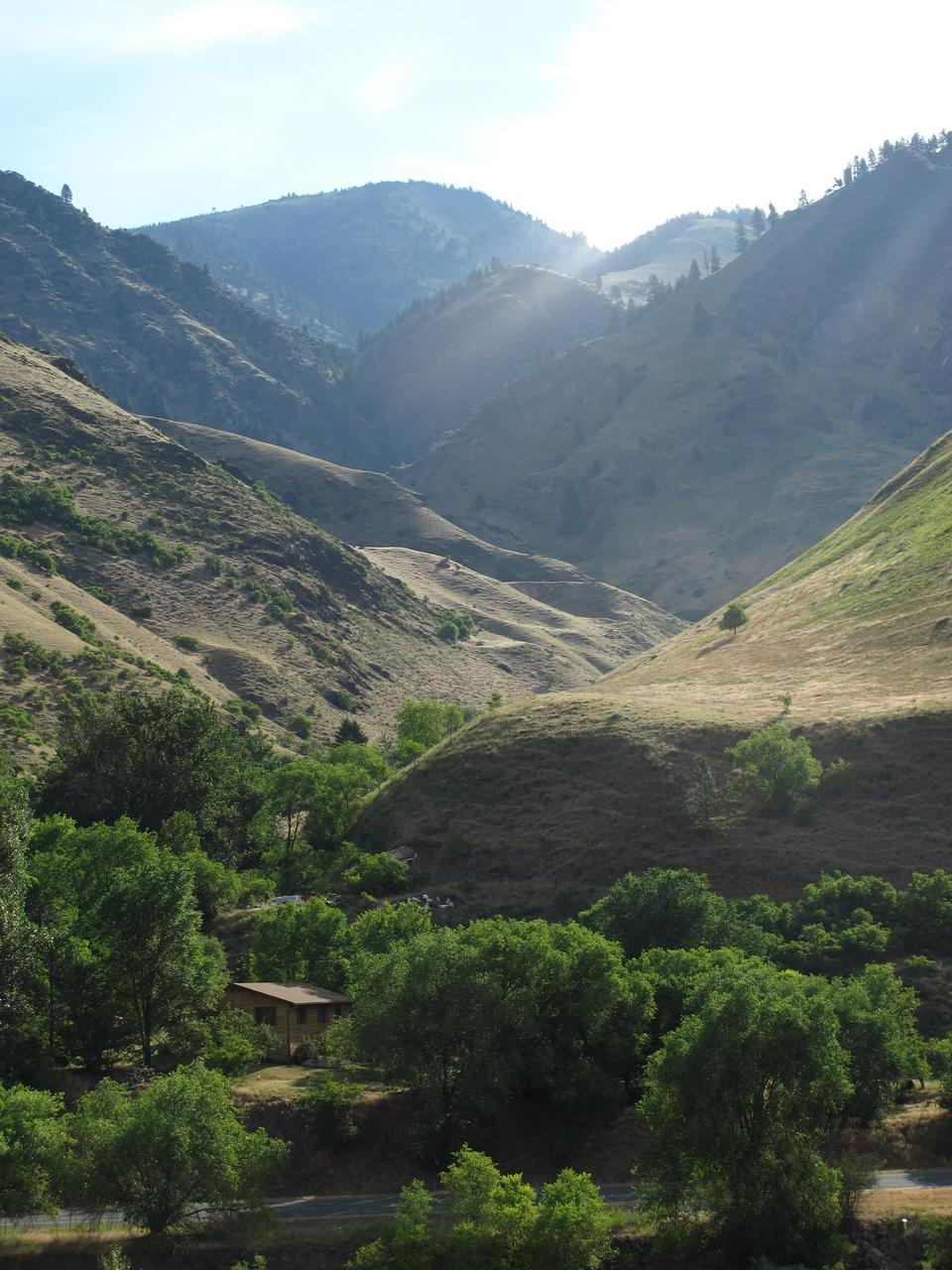 Free A side canyon of the Little Salmon River Idaho