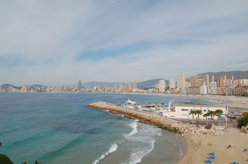 Free Levante Beach - Benidorm Valencian Spain