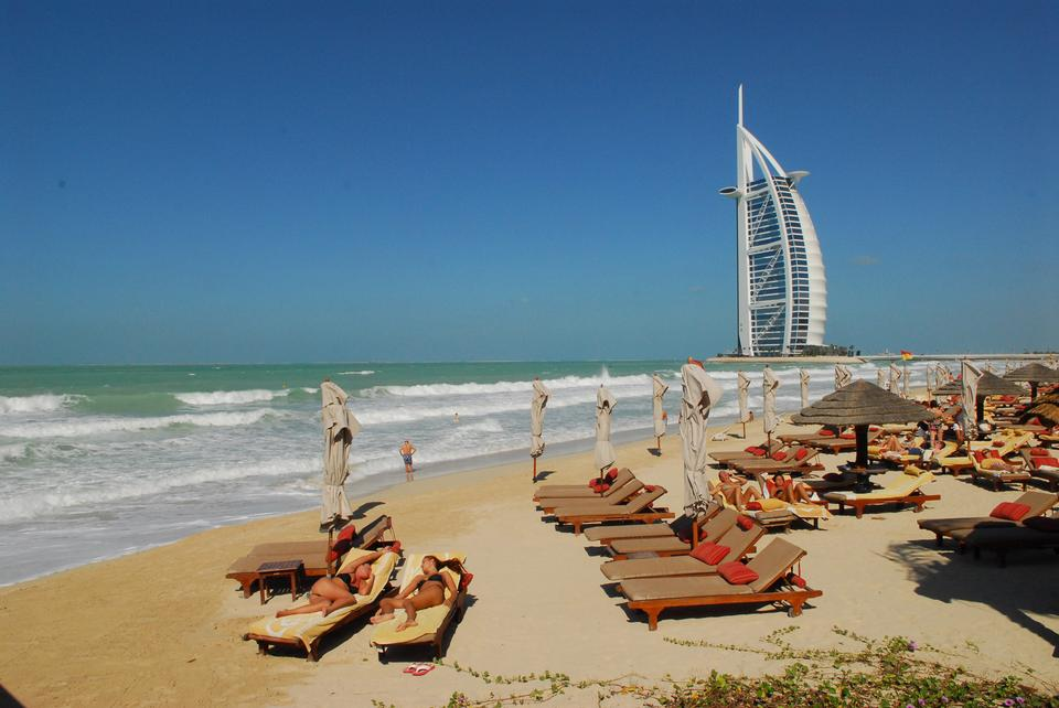 Free Burj Al Arab Beach In Dubai