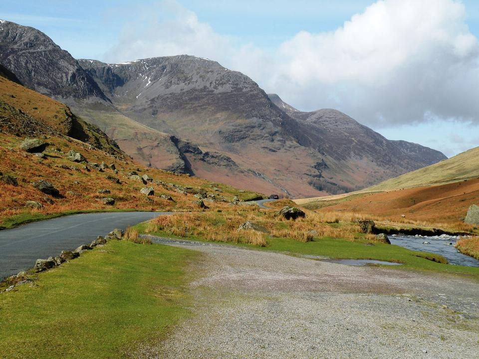 Free Honister Pass in the Cumbrian Lake District