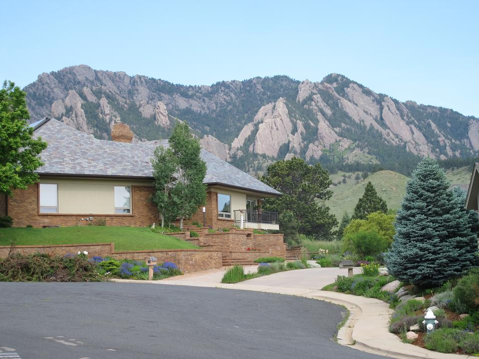 Free The Flatirons and foothills of the Rocky Mountains