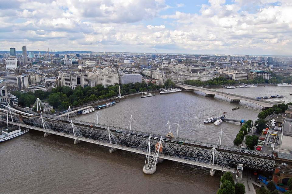 Free View from London eye