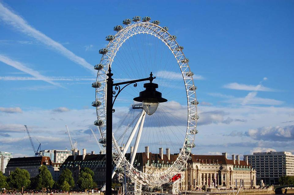 Free Lamp construction or London eye