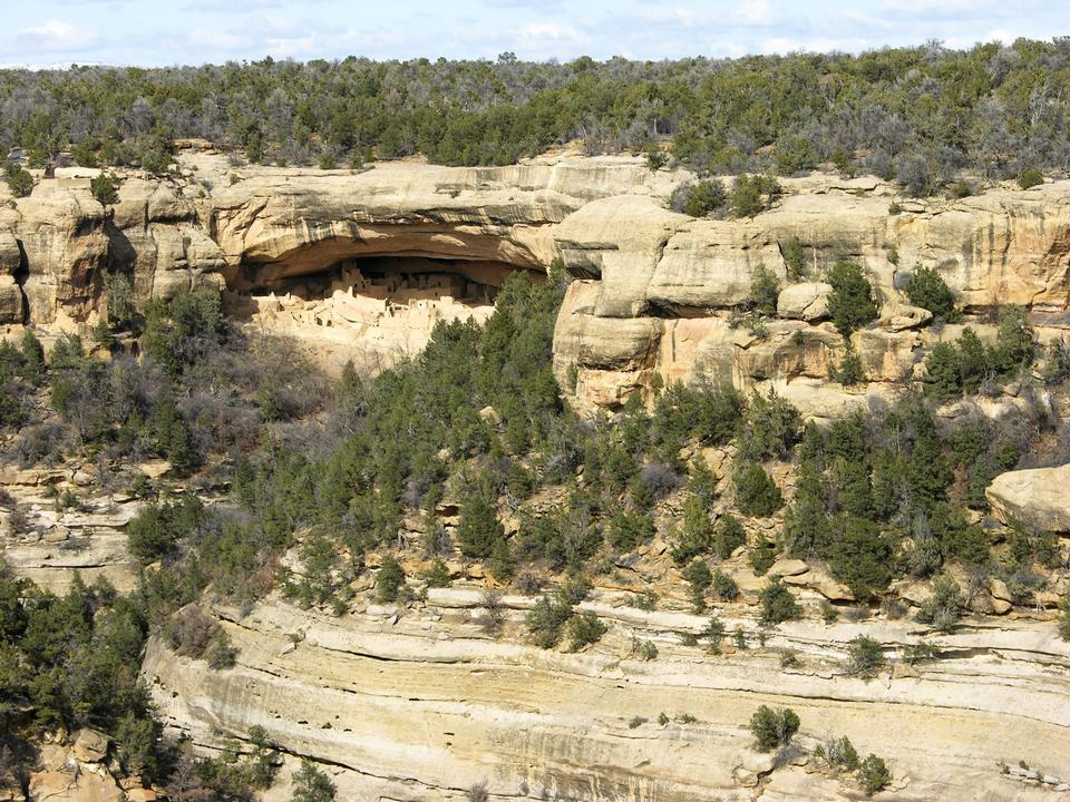 Free Mesa Verde National Park Cliff-dwellings Colorado