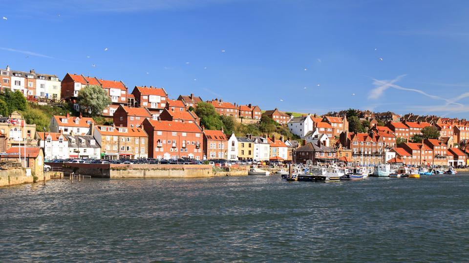 Free Whitby harbour of North Yorkshire