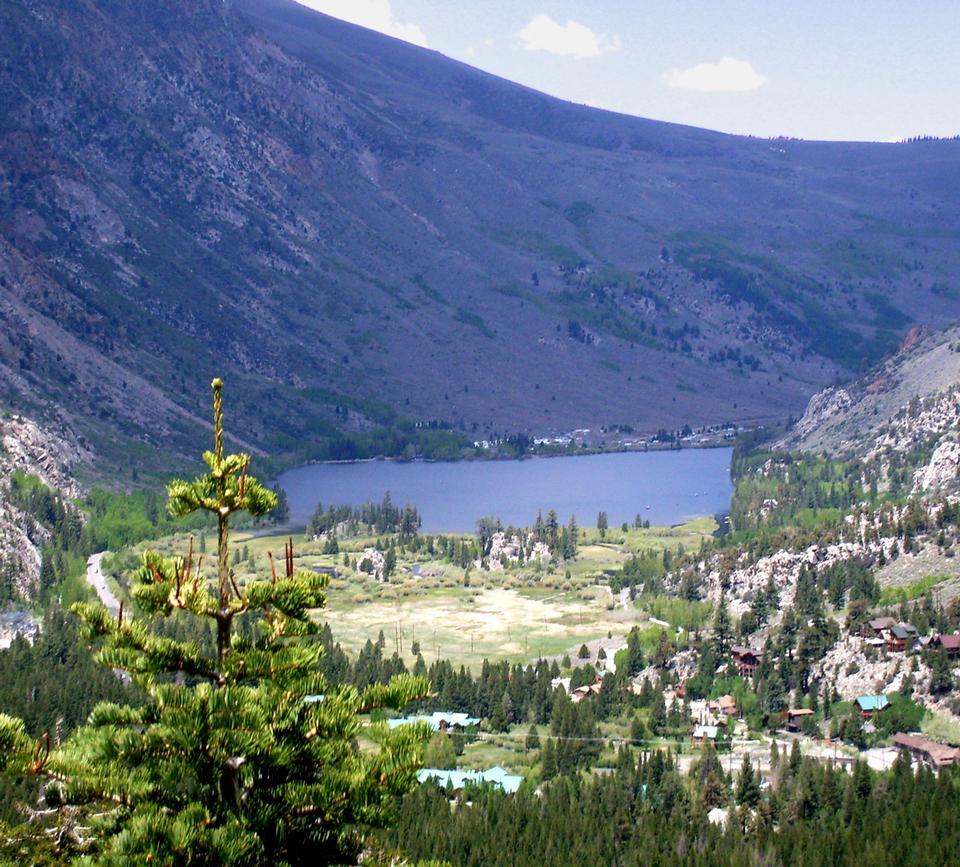 Free Silver Lake Landscape, Eastern Sierras, California