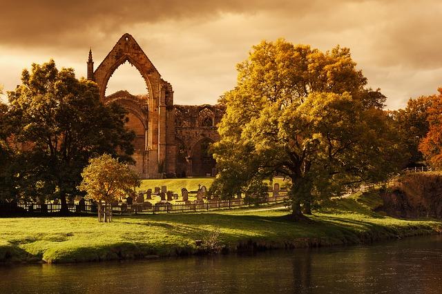 Free Photos: Bolton abbey ancient architecture cemetery | PublicDomainPictures