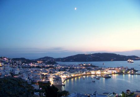 Free Mykonos island in Greece
