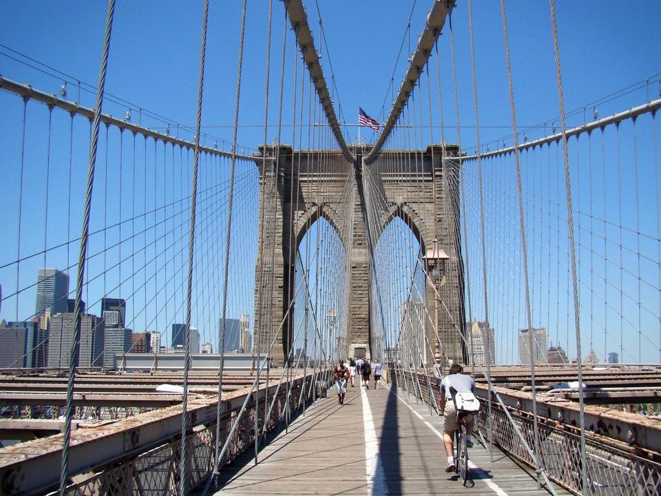 Free Walking-tour Brooklyn Bridge New York