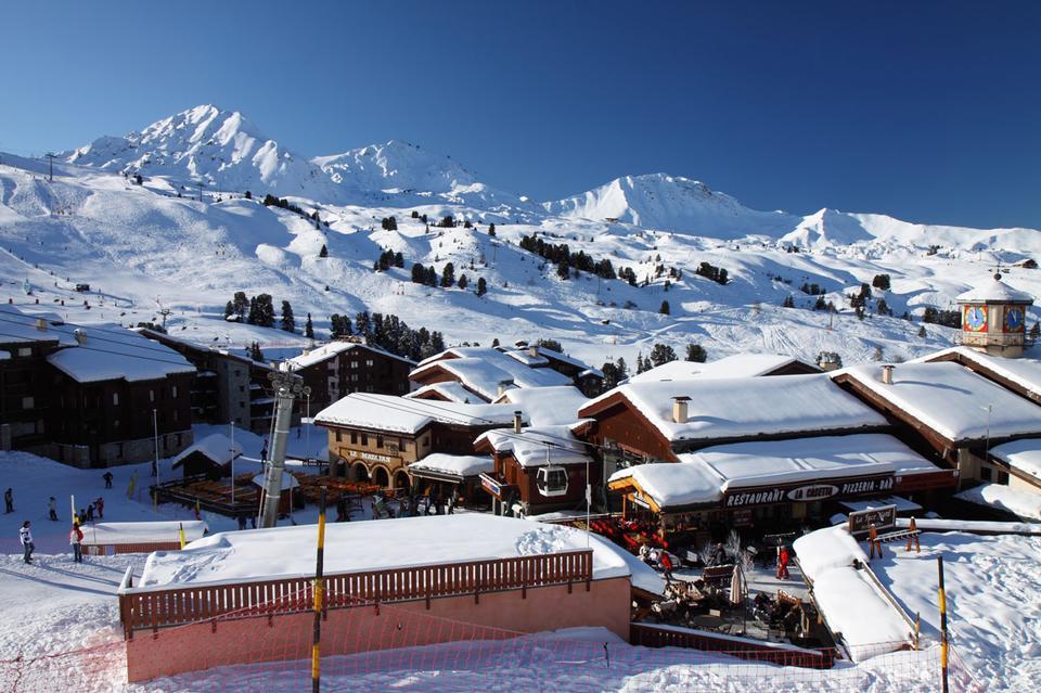 Free Belle Plagne ski resort in France