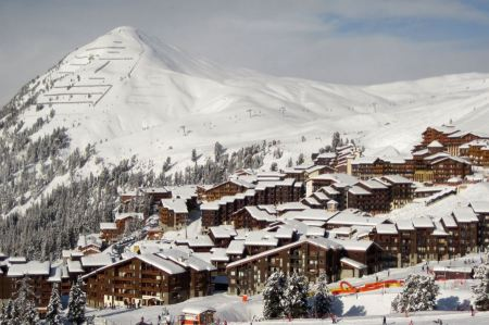 Free Belle Plagne ski resort at 2000 meters in France