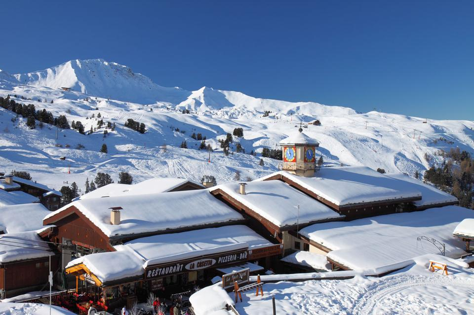 Free Belle Plagne ski resort in France