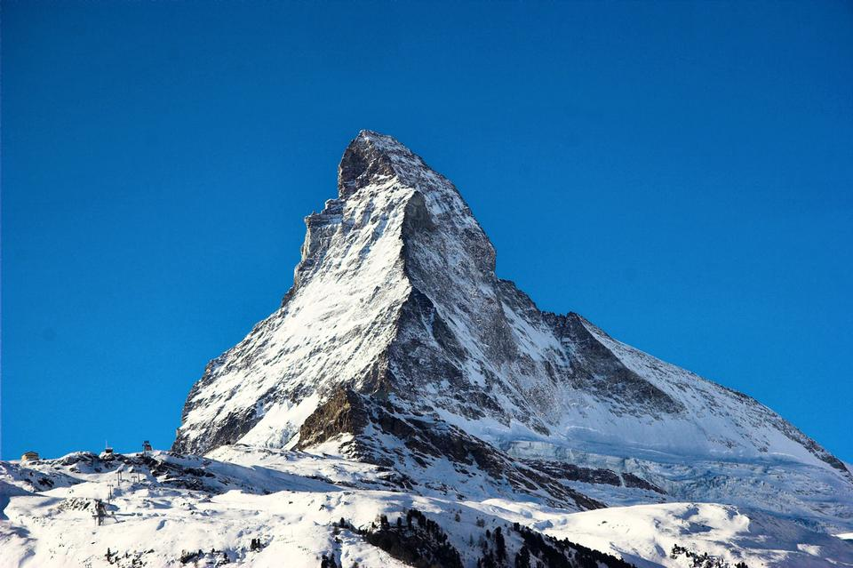 Free North Face of the Matterhorn