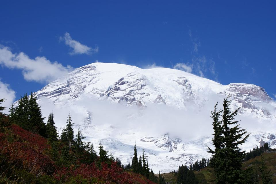 Free Mount Rainier Washington