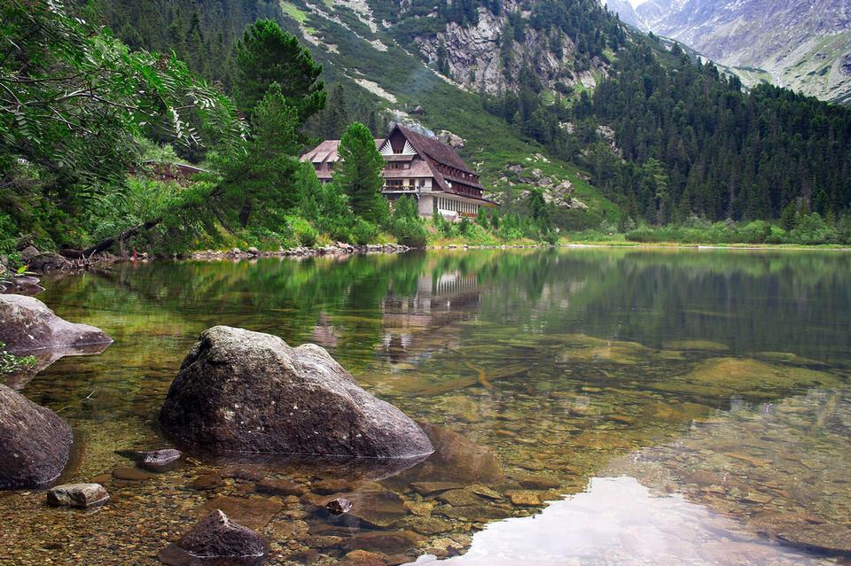 Free tarn lake slovakia