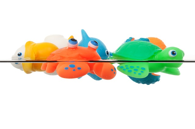 Free animal animals bath colorful cute float fun