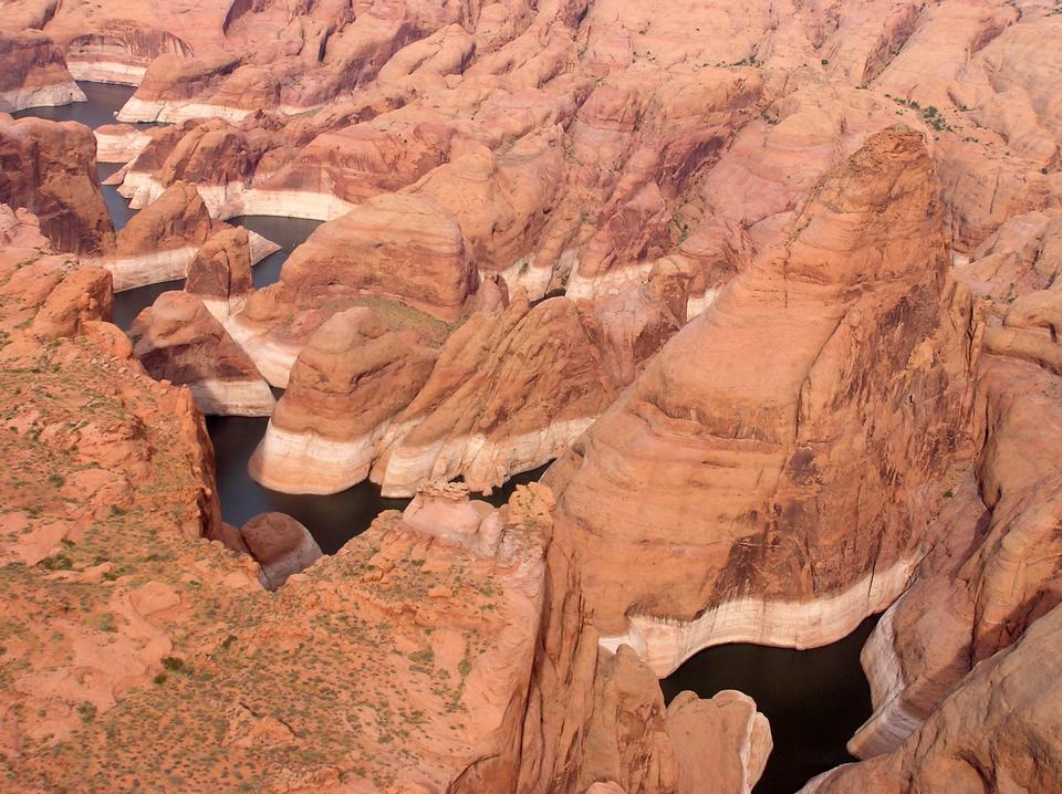 Free Glen Canyon Utah Landscape Scenic River Water