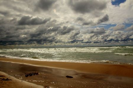 Free Lake Michigan from Big Sable Point Lighthouse