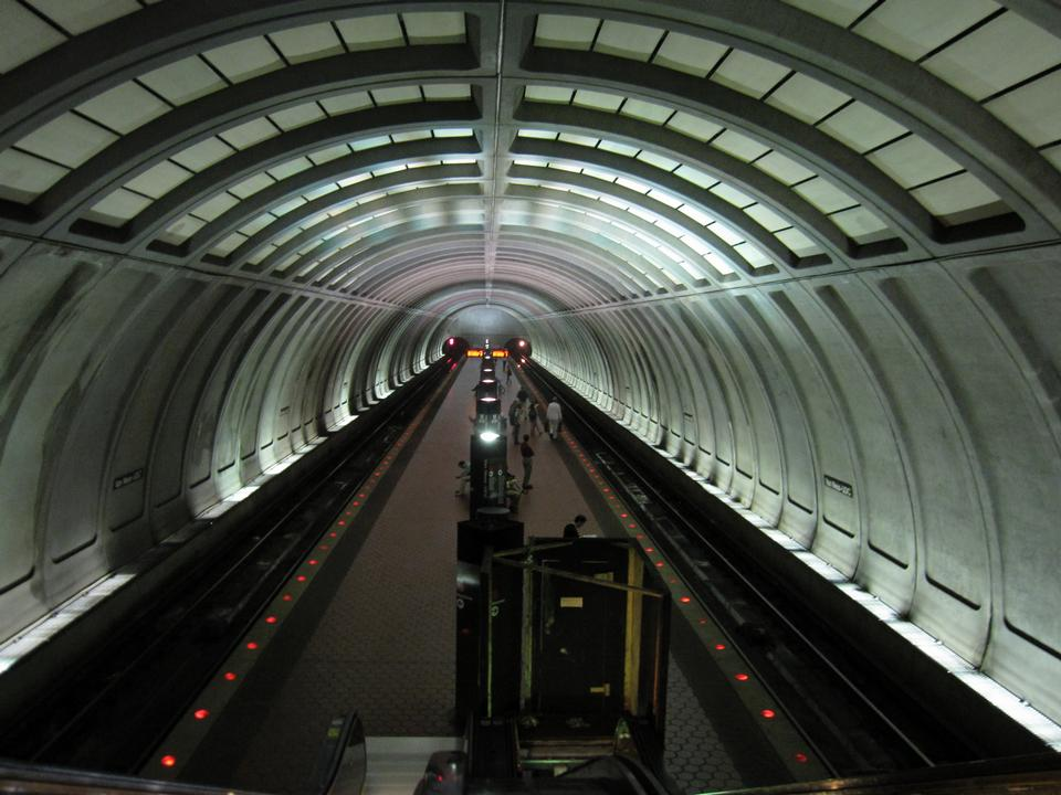 Free Station Washington Metro Train Subway