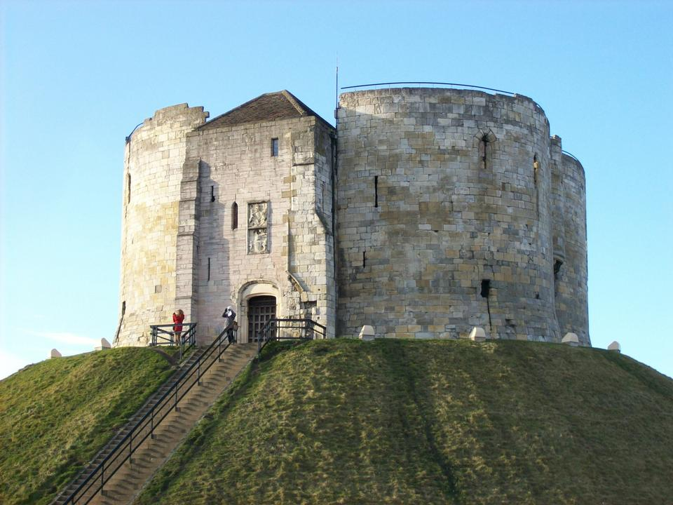 Free Cliffords Tower in York England
