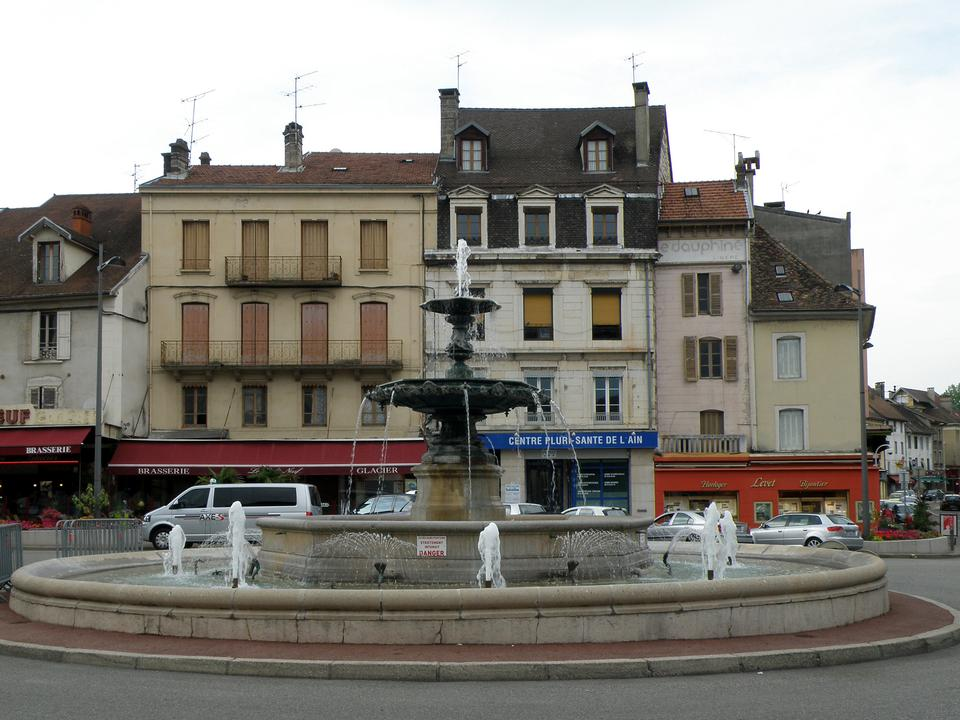 Free Town Belley Ville France