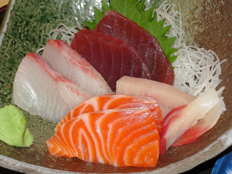 Free Sashimi Sing Platter - Japanese Food