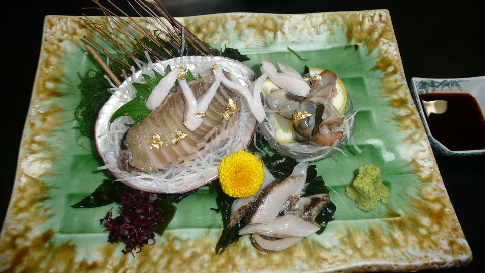 Free Awabi Sashimi - Japanese Food