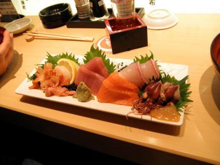 Free Assorted Sashimi - Japanese Food
