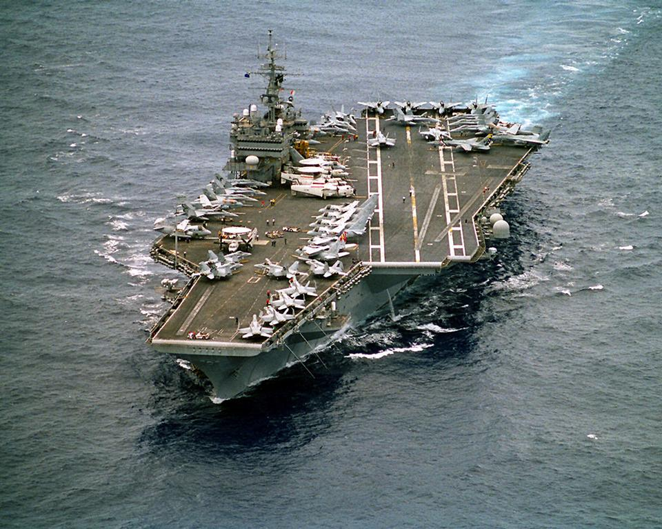 Free USS Constellation enroute to the Arabian Gulf