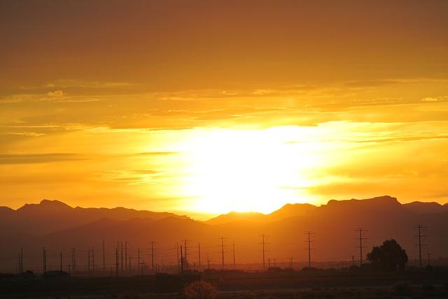 Free arizona sunrise mountains nature landscape