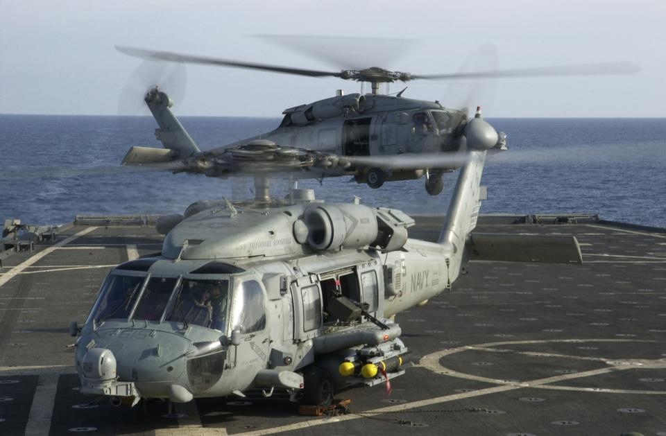 Free HH-60H Seahawk Helicopters from the Dragon Slayers