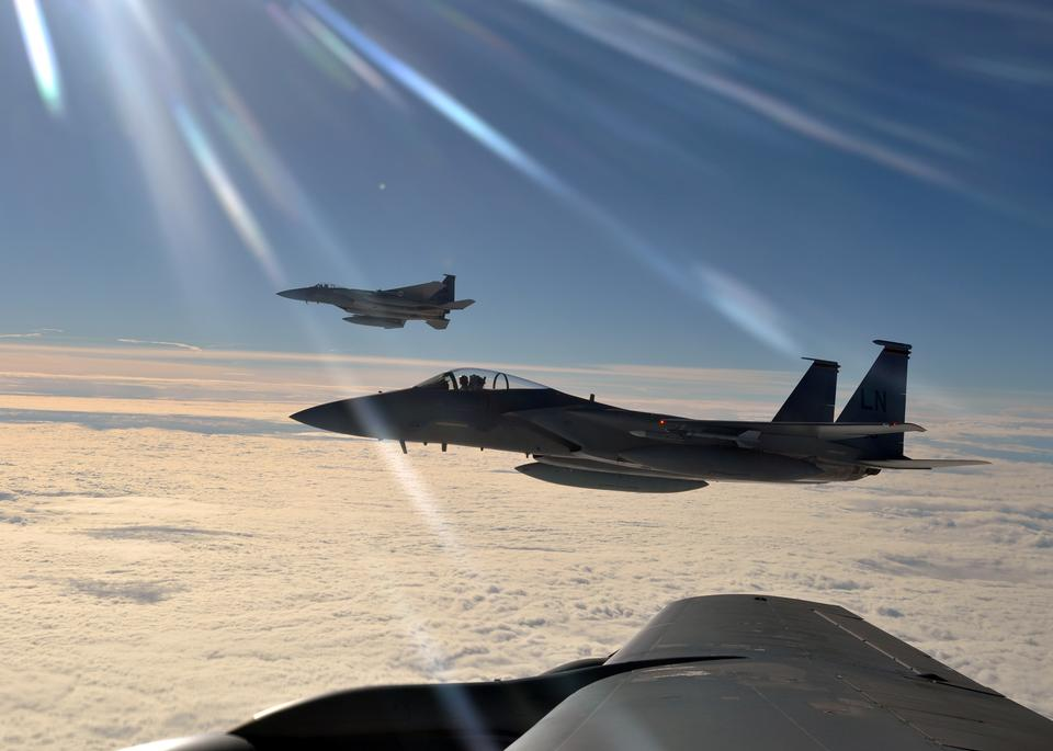 Free Two F-15C Eagles from the 48th Fighter Wing