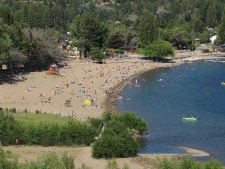 Free Lacar Lake Beach in San Martin de los Andes