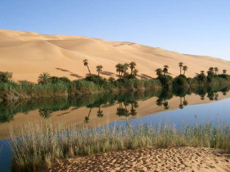 Free Beautifully Bizarre Desert Oasis in Libya